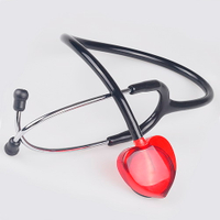 SunnyWorld Professional Acrylic Nurse Heart Stethoscope SW-ST13B